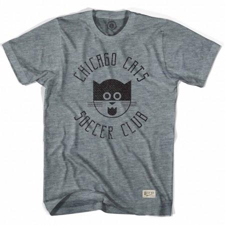 Chicago Cats Soccer Gray T-Shirt