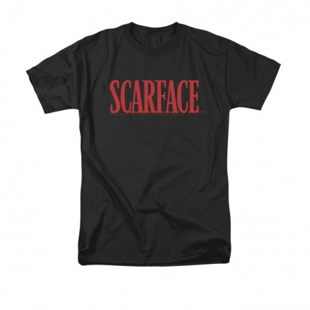 Scarface Classic Logo Black T-Shirt