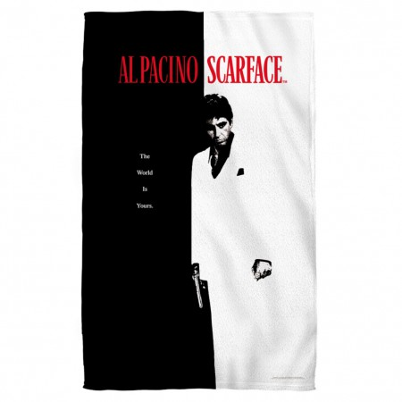 Scarface Movie Poster Beach Towel