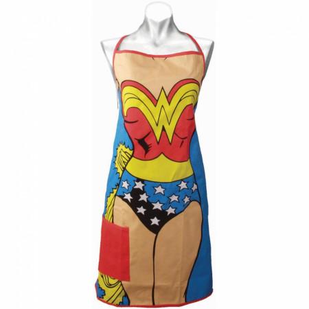 Wonder Woman Costume Kitchen Apron