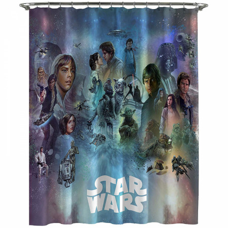 Star Wars Celebration Shower Curtain