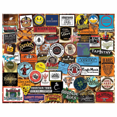 Michigan Beer 1000 Piece Jigsaw Puzzle