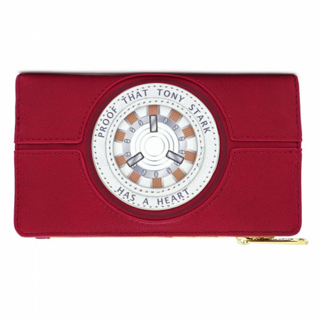 Iron Man Proof of a Heart Wallet