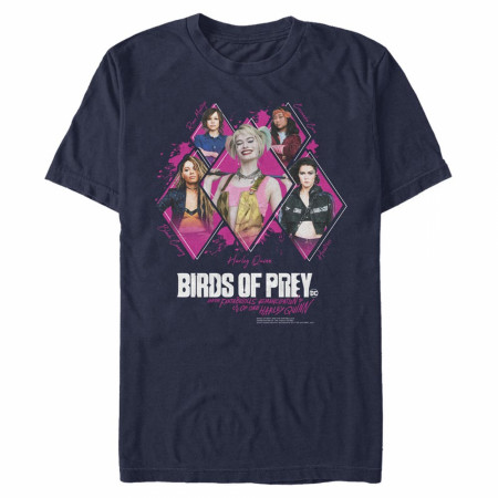 Birds of Prey Girl Gang Blue T-Shirt