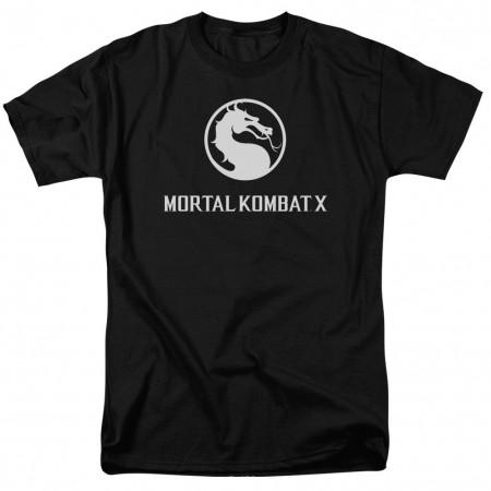 Mortal Kombat X Dragon Logo Black T-Shirt