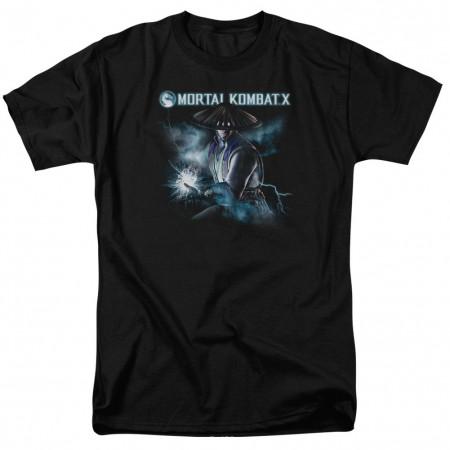 Mortal Kombat X Raiden Black T-Shirt