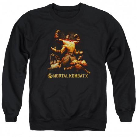 Mortal Kombat X Goro Black Crew Neck Sweatshirt