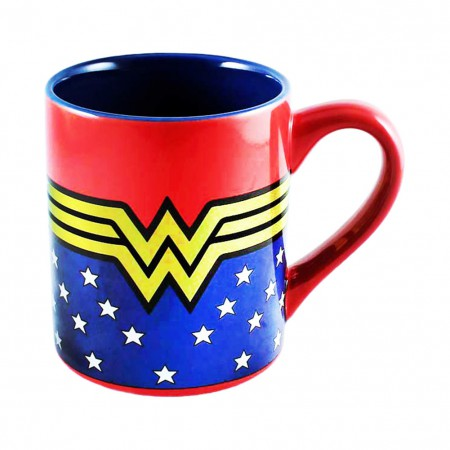 Wonder Woman Stars Mug