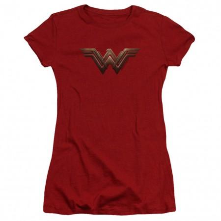 Wonder Woman Movie Logo Women's Tshirt