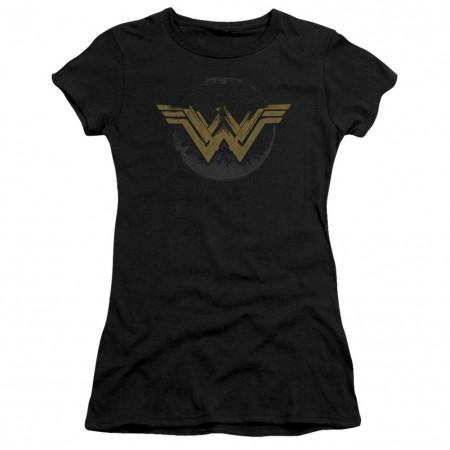 Wonder Woman Distressed Logo Women's T-Shirt