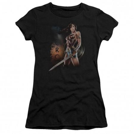 Wonder Woman Fierce Women's Tshirt