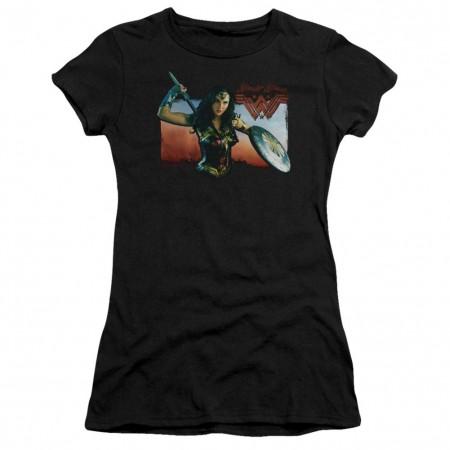 Wonder Woman Warrior Women's Tshirt