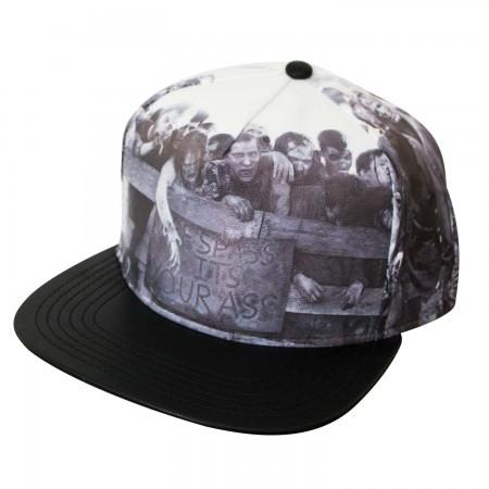 Walking Dead Zombies Snapback Hat