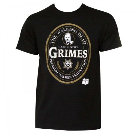 Men's Walking Dead Grimes Emblem T-Shirt