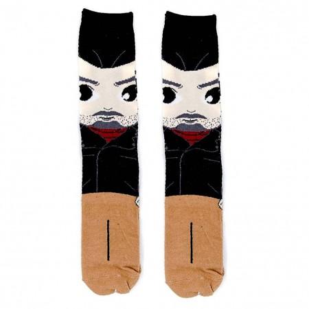 Walking Dead Men's Negan Crew Socks