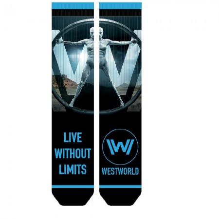 Westworld Men's Live Without Limits Socks