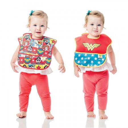 Wonder Woman Bib Set