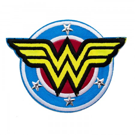 Wonder Woman Logo 3x4 Patch