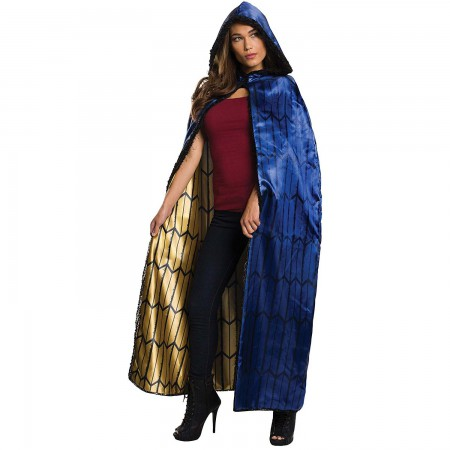 Wonder Woman Blue Women's Deluxe Cape