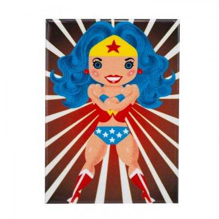 Wonder Woman Chibi Character Magnet