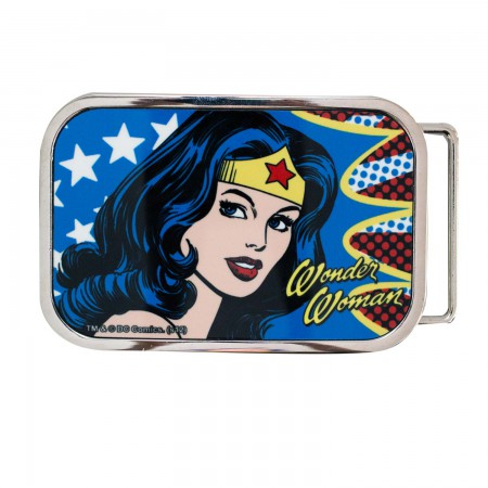 Wonder Woman Face Belt Buckle