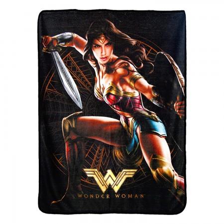 DC Comics Wonder Woman Good Soldier 40x60 Throw Blanket