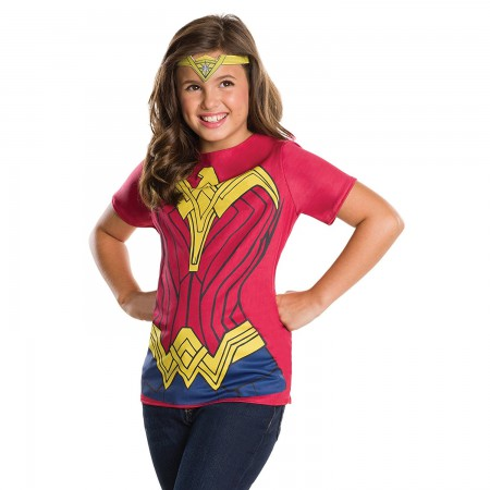 Wonder Woman Youth Costume T-Shirt