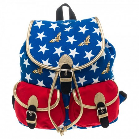 DC Comics Wonder Woman Patriotic Knapsack