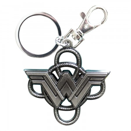 Wonder Woman Superhero Lasso Keychain
