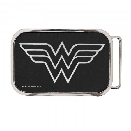 Wonder Woman Logo Belt Buckle