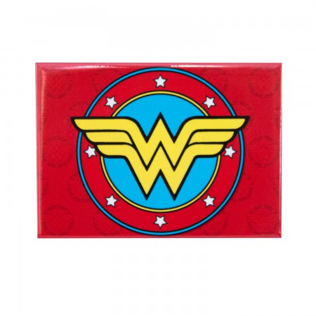 Wonder Woman Red Logo Magnet