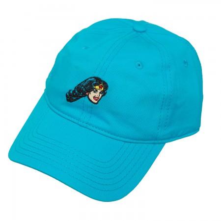 Wonder Woman Light Blue Dad Hat