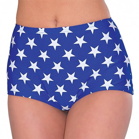 Wonder Woman Blue Costume Shorts