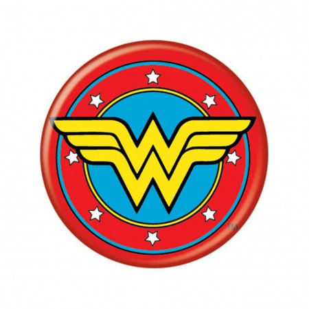 Wonder Woman Logo Button