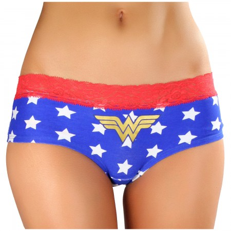 Wonder Woman Star Print Women's Panties