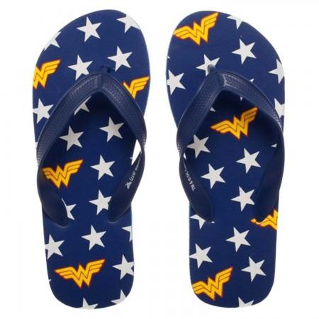 Wonder Woman Logo Unisex Flip Flops