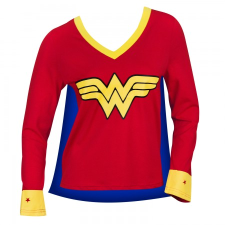 Wonder Woman Capd Varsity Tee Shirt