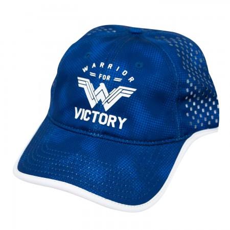 Wonder Woman Blue Victory Hat