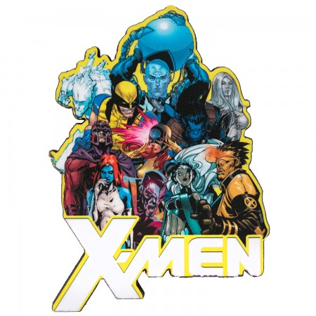 X-Men Chunky Group Magnet