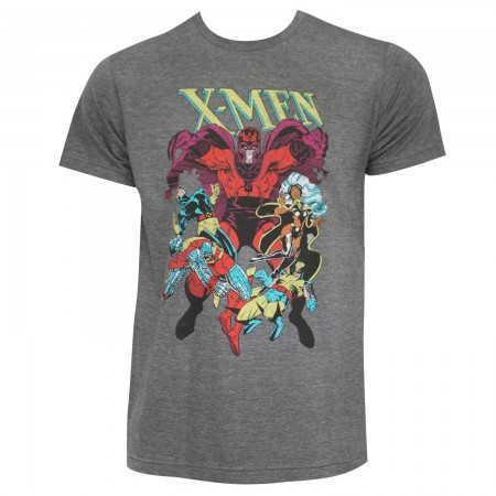 X-Men Men's Grey Megneto's Wrath T-Shirt