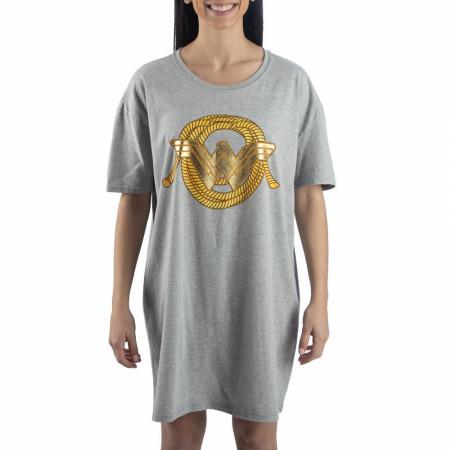 Wonder Women Women's Short Sleeve Night Shirt