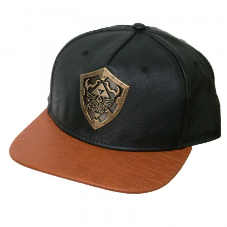 The Legend Of Zelda Faux Leather Snapback Hat