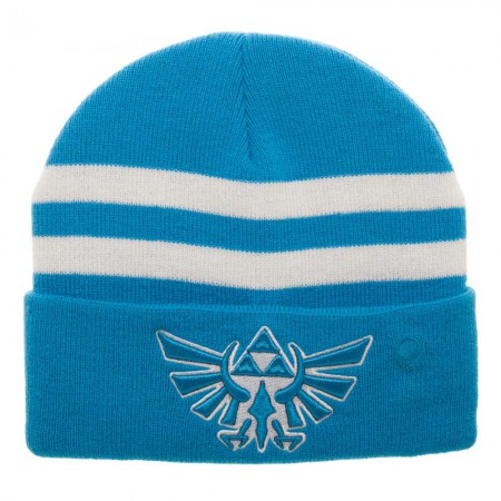 Legend Of Zelda Blue Breath Of The Wild Light Up Beanie