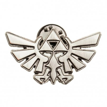 The Legend Of Zelda Triforce Logo Lapel Pin
