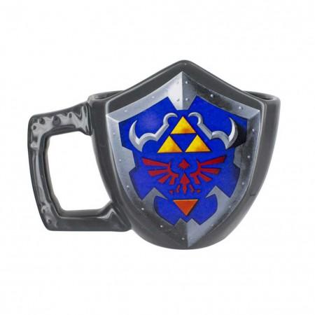 The Legend Of Zelda Triforce Shield Coffee Mug