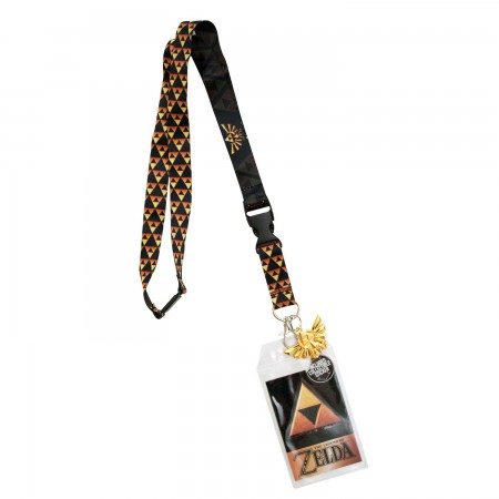 The Legend Of Zelda Triforce Keychain Lanyard