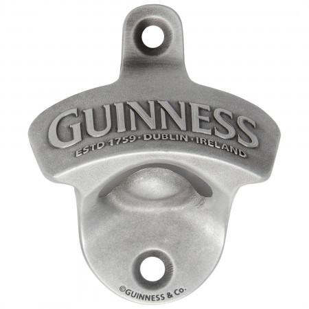 Guinness Classic Mounted Bottle Opener