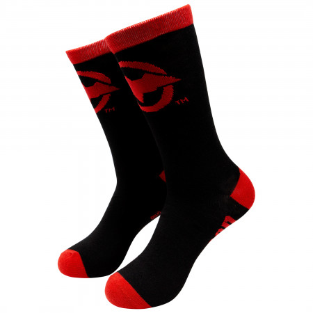 Red Hood Crew Socks