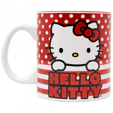 Hello Kitty 20 Ounce Ceramic Mug