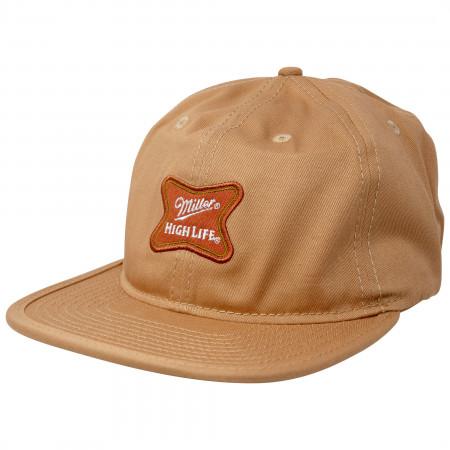 Miller High Life Beer Adjustable Strapback Hat